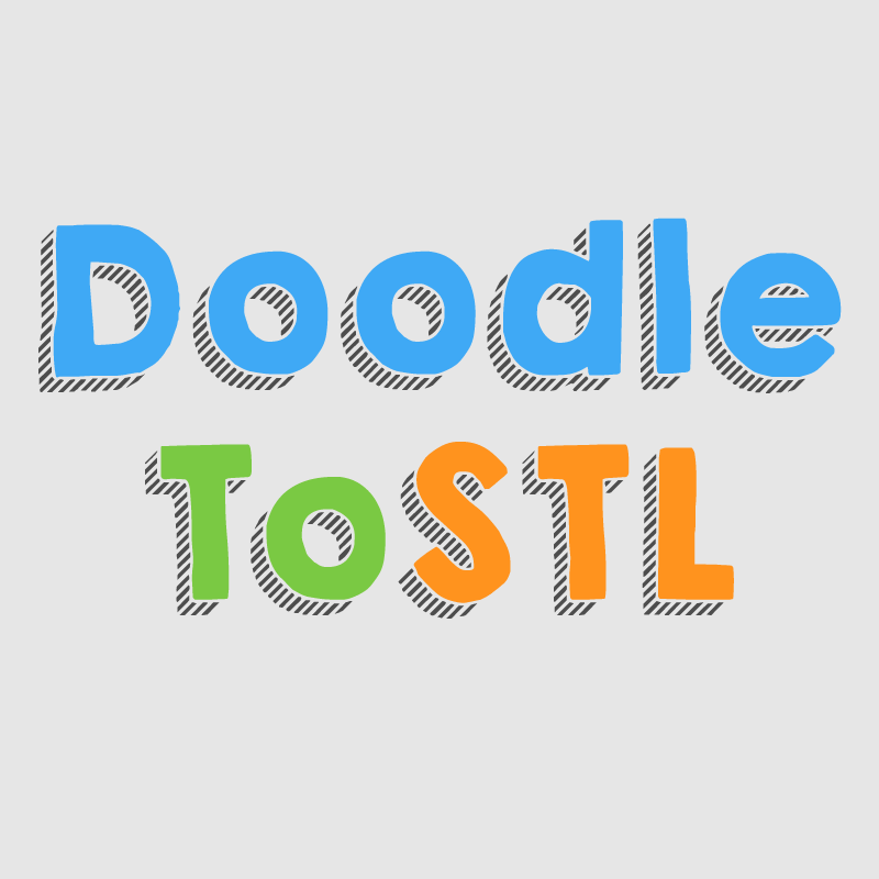 DoodleToSTL